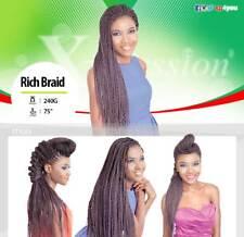 XPRESSION RICH BRAID HAIR EXTENSIONS (various colours)