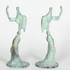 """Kunst Skulptur """"Engel"""" 20cm Unikat Andreas Loeschner-Gornau"""