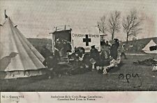 WW1 Soldier group RAMC or Canadian Army Medical Corps & donated Motor Ambulance