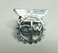 Transport &  General Workers Union Chrome lapel badge