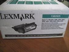 GENUINE Lexmark Optra S (1382925) Black HIGH YIELD Toner Cartridge NEW SEALED!!!