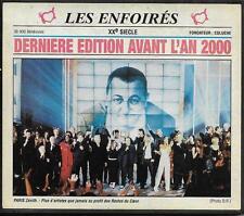 CD 17T LES ENFOIRÉS DERNIÈRE EDITION AVANT L'AN 2000 GOLDMAN/DAHO/SOUCHON/ZAZIE