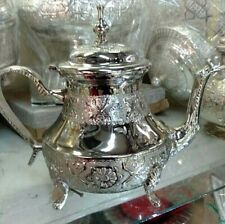 Moroccan Handmade TeaPot Silver X Large * NEW*