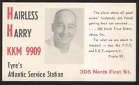 Postcard JESSUP Georgia/GA  QSL Ham Radio Card 1960's?