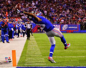Odell Beckham Jr. THE CATCH New York Giants Premium NFL POSTER Print