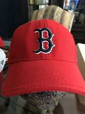Rare Red Boston Red Sox batting practice fitted flex fit hat. Medium - Large