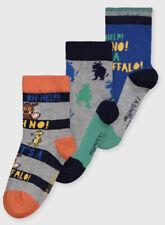 TU Boys 3 Pack Gruffalo Socks Size 3-5.5