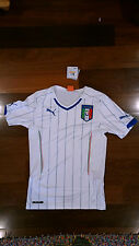 Puma FIGC Italy Away Jersey Replica men's small white NEW with tag