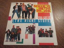 maxi 45 tours NEW KIDS ON THE BLOCK you got it (the right stuff)