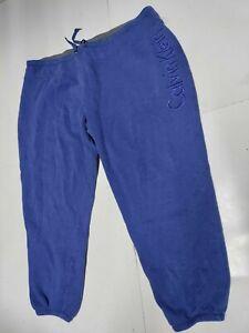 CALVIN KLEIN PERFORMANCE Womens Logo Jogger Capri Sweatpants~Blue Size:XXL (2XL)