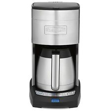 Cuisinart Elite 10 Cup Thermal Stainless Coffee Maker (Certified Refurbished)
