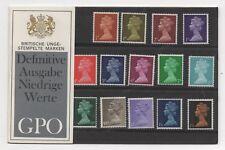 1967 pre-decimale Machin versione tedesca confezione di presentazione in confezione originale.