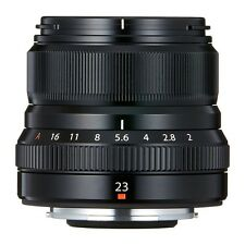 FUJIFILM exchange lens 23mmF2 black XF23MMF2 R WR B from japan