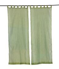 Window Curtain Decor Wall Curtains Panel Indian Valances