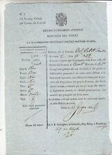 GG865-LOMB.VENETO-FRIULI-UDINE PASSAPORTO MILITARE DI SOLO ANDATA