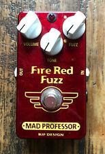 Mad Professor Fire Red Fuzz pedal