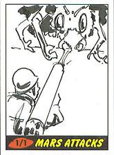 Mars Attacks Heritage Sketch Card: Stan Mandrake