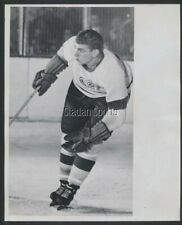Metro Prystai 1953 Detroit Red Wings  Vintage NHL Hockey Press Photo