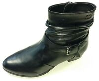 Gerry Weber Damen Schuhe Stiefel Stiefelette G82217 Carmen Boots schwarz Leder