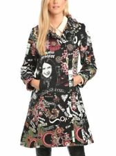Knee Length Button Coats & Jackets for Women's 60s