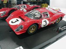 Carrera Digital 124 23814-Ferrari 330 p4 startnr. 3 Monza 1967 rouge foncé 1:24