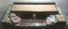 Wooden Bridge over River  Display Base 1/32 1/35 Scale Models/Armour/Tank/car