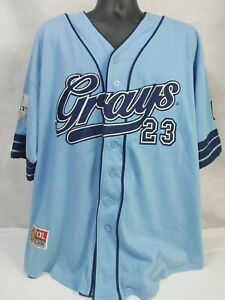 Negro Leagues Baseball Museum Jersey, Homestead Grays #23 2XL Baby Blue