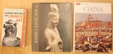 Lot of 3 books on Chinese Treasures Religion Painting Bronze Art History Cutlure
