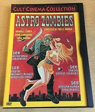 Astro Zombies Motion Picture DVD 1969 Image Ent. John Carradine Horror B-Movie