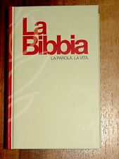 Italian Language Bible, La Sacra Bibbia, NRV, Hardcover Red/Cream