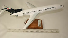 ANSETT BOEING B727-200LR IN FLAG LIVERY HANDBUILT LARGE 1:100 SCAL DESKTOP MODEL