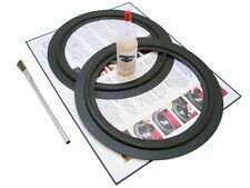 """2 JBL 8"""" Speaker Foam Surround Repair Kit - 2P208"""