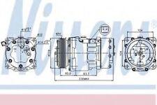 New AC Compressor for CITROEN-FIAT-LANCIA-PEUGEOT-TOYOTA 89032 Nissens