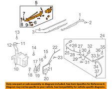 SUBARU OEM 05-07 Legacy Front Windshield Wiper Motor 86510AG02B