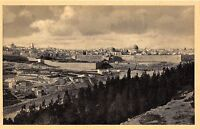 B39742 Jerusalem view from Mount of Olives  israel