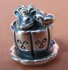 AUTHENTIC PANDORA ENCHANTED MOUSE STERLING SILVER BEAD TEA CUP BRAND NEW #791107