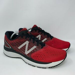New Balance 860v9 Running Shoes Mens Size 11 Red Athletic Sneakers M860TR9
