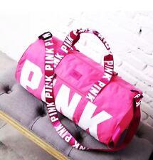 Victoria's Secret Love Pink Duffel / Gym Bag - Pink - Free Shipping
