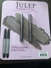 Julep Eyeshadow 101 Duo Sticks Taupe Shimmer & Stone