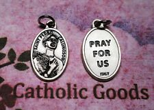 St. Saint Pedro Calungsod - Oxidized Die Cast Italian Silver Tone 1 inch Medal