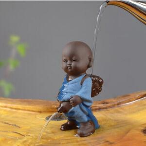 on sales real yixing zisha tea pet little monk pee doll China creative tea play