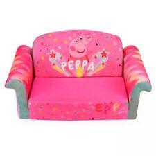 Marshmallow Furniture Peppa Pig Kids' 2-in-1 Flip Open Foam Sofa
