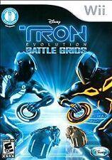NEW Nintendo Wii Game Disney Tron Evolution Battle Grids Works w/ Wii MotionPlus