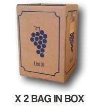 Cannonau di Sardegna DOP 2013 Bag in Box lt.20 (2 pz) - Vini Sfusi Sardegna -