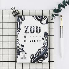 """Zoo in Sight"" 30 Pcs Mixed Postcards Set Postcard Lot Box Animals Bookmark Gift"