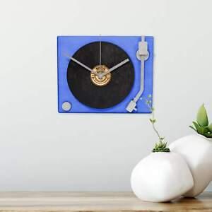 Turn Table Wall Clock .