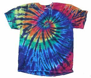 Multi-Color Tie Dye T-Shirt, Adult, S M L XL 2XL 3XL 4XL 5XL 100% Cotton Gildan