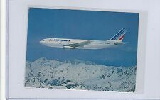 Air France airlines issued Airbus 300 cont/l postcard #3