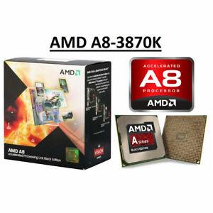 AMD A8-3870K A8-3850 Quad-Core Processor Socket FM1 CPU