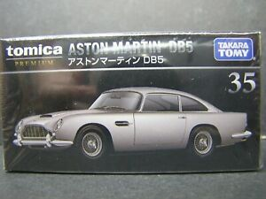 TAKARA TOMY TOMICA PREMIUM DieCast car 1:62 ASTON MARTIN DB5  #35